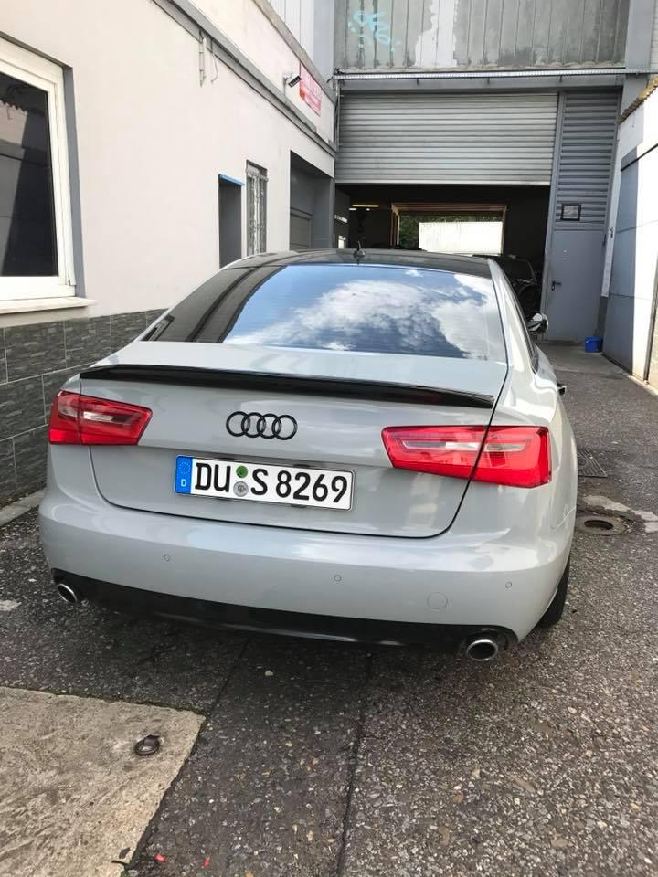 Audi A6 in Nardograu